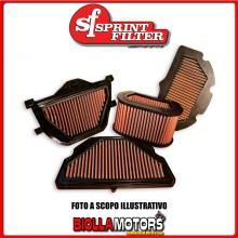 PM49S FILTRO ARIA SPRINTFILTER YAMAHA YZF R1 2007-2008 1000CC RACING SPORTIVO LAVABILE