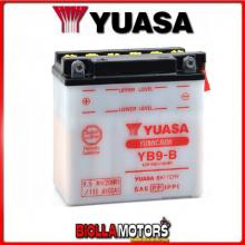 584810 BATTERIA YUASA YB9-B SENZA ACIDO YB9B MOTO SCOOTER QUAD CROSS