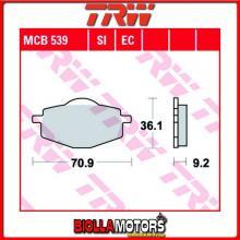 MCB539EC PASTIGLIE FRENO ANTERIORE TRW Sachs 50 Bee 2008-2010 [ORGANICA- EC]