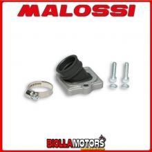 2014519 KIT COLLETTORE ASPIRAZIONE MALOSSI X360 RACING D. 22 - 28 GILERA RUNNER 50 2T LC INCLINATO E LUNGHEZZA 29 IN FKM -