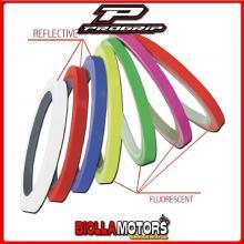 407032890 PROGRIP Decalco Stripe Cerchi 5025-107 - Rosso