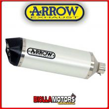 71749AKB MARMITTA ARROW RACE-TECH APRILIA SRV 850 2012-2016 WHITE/CARBONIO