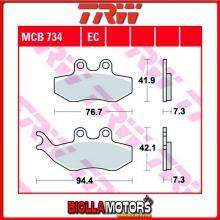 MCB734 PASTIGLIE FRENO ANTERIORE TRW Piaggio GTX 150 Super Hexagon 2000- [ORGANICA- ]