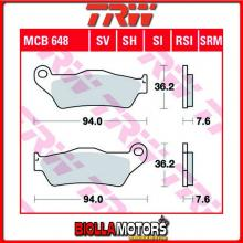 MCB648LC PASTIGLIE FRENO ANTERIORE TRW Ducati 695 Monster 2006-2008 [ORGANICA- LC]