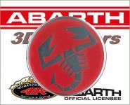21540 ADESIVO 3D STICKERS SCORPIONE ABARTH D. 50 MM