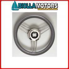 4641737 VOLANTE D350 V/STEEL POLIURETANO GREY Volante V25/Steel