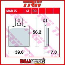 MCB75 PASTIGLIE FRENO ANTERIORE TRW Hyosung 125 Boomer 2002-2004 [ORGANICA- ]