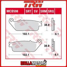 MCB598SRM PASTIGLIE FRENO ANTERIORE TRW Kymco 125 New Grand Dink 2012-2017 [SINTERIZZATA- SRM]