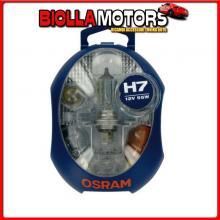 OCLKH7MINI OSRAM 12V KIT LAMPADE DI RICAMBIO 12V CLKH7MINI - 1 PZ - SCATOLA PLAST. - H7