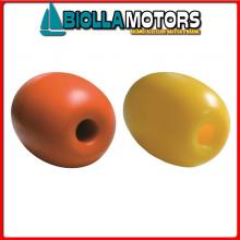 3820416 GALLEGGIANTE DURAFLOAT 17.5 YELLOW Galleggiante con Foro Passante Dura Float Olive