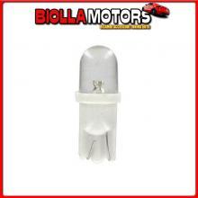 98340 LAMPA 24V MICRO LAMPADA 1 LED - (T10) - W2,1X9,5D - 2 PZ - SCATOLA - BIANCO