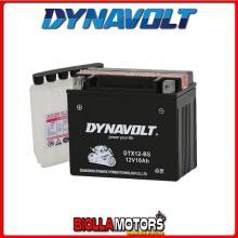 DTX12-BS BATTERIA DYNAVOLT YTX12-BS SIGILLATA CON ACIDO YTX12BS MOTO SCOOTER QUAD CROSS