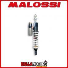 4614237 AMMORTIZZATORE POSTERIORE MALOSSI RS24/10-R GILERA RUNNER 50 2T LC , INTERASSE 290 MM -