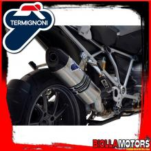 BW12080TV TERMINALE TERMIGNONI BMW R 1200 GS 2013-2016 RELEVANCE INOX/TITANIO