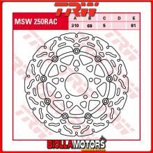 MSW250RAC DISCO FRENO ANTERIORE TRW Suzuki DL 650 V-Strom 2004-2007 [FLOTTANTE - CON CONTOUR]