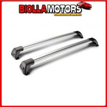 Y8050193 YAKIMA FLUSH MIXED, COPPIA BARRE PORTATUTTO TELESCOPICHE IN ALLUMINIO - 85+90 CM CHEVROLET SPARK - RAILING (02/10>09/15