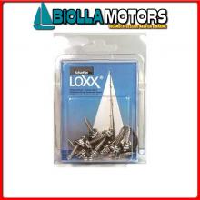 3214291 CONFEZIONE VITE 16MM LOXX/TENAX 10PZ 10 Viti Mordenti Loxx - Tenax in Blister