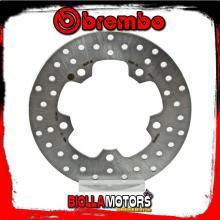 68B407J8 DISCO FRENO POSTERIORE BREMBO SYM HD EVO 2011- 200CC FISSO