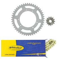 244334 KIT CATENA/PIGNONE/CORONA PEUGEOT XP6 NM 13X53 420