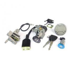 970919L KIT SERRATURA COMPLETO ROMA2/3 & ASIATICI GY6 50cc (TIPO A)