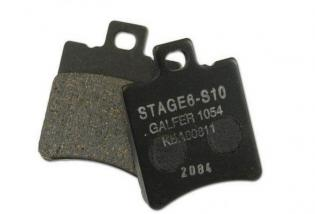 S6-1021010 BRAKE PADS SPORT S10 STAGE6 by GALFER