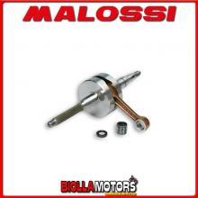 538008 ALBERO MOTORE MALOSSI RHQ FANTIC BIG WHEEL 50 2T BIELLA 80 - SP. D. 12 CORSA 39,2 MM -