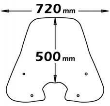 CLS120+A/224 PARABREZZA HONDA SH 300 2006-10