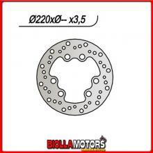 659116 DISCO FRENO ANTERIORE NG MOTOR HISPANIA Rolling Bull 50CC 1997 116 2201253,56