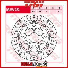 MSW223 DISCO FRENO ANTERIORE TRW Suzuki GSXR 600 1997-2000 [FLOTTANTE - ]