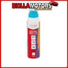 PA033 TZYGO TZYGO AEROREP, AEROSOL INSETTO-REPELLENTE PRONTO ALL?USO - 150 ML