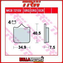 MCB721SV PASTIGLIE FRENO ANTERIORE TRW Generic (KSR Moto) GSR 600 2013- [ORGANICA- ]