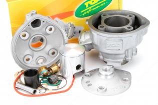 9921760 CYLINDER KIT TOP D.49,5mm CORSA 44mm MINARELLI AM6 GHISA PER MAXI KIT COD.9921450