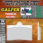 FD068G1651 PASTIGLIE FRENO GALFER PREMIUM ANTERIORI GILERA 500 SATURNO PIUMA 90-