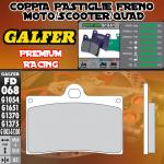 FD068G1651 PASTIGLIE FRENO GALFER PREMIUM ANTERIORI NORTON COMMANDO 961 SE 10-