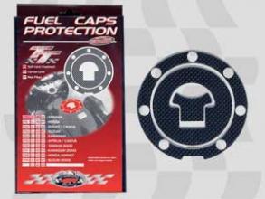 1751 PROTEZIONE TAPPO SERBATOIO 3D CARBON LOOK FUEL CAPS HONDA 3D