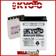 712143 BATTERIA KYOTO 12N14-3A CON ACIDO 12N143A MOTO SCOOTER QUAD CROSS