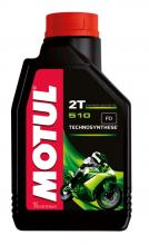 1 LITER BOTTLE 104028 MOTUL SEMI synthetic 510 2stroke engine