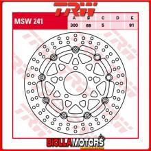 MSW241 DISCO FRENO ANTERIORE TRW Suzuki GSXR 1000 2003-2004 [FLOTTANTE - ]