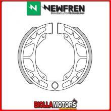 GF0255 GANASCE FRENO NEWFREN X BENELLI 491 all models 50 1997 (POSTERIORE)