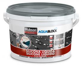 1139781 RUBSON AQUABLOCK SILICONE LIQUIDO GRIGIO 5KG