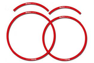 5010251 053 RED RIMS DECALS