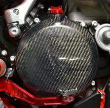PCFC13-2T-FULL CARBON CLUTCH COVER PROTECTION FULL BETA RR 300 2T