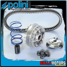 241.719 KIT VARIATORE HI-SPEED POLINI EVO 20X17 APRILIA ATLANTIC 250, ARRECIFE
