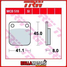 MCB510 PASTIGLIE FRENO POSTERIORE TRW Sachs 50 Mad Ass 2006-2009 [ORGANICA- ]