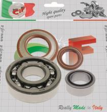 5222-KTV SKF Lager Dichtungen Reparatur-Set für PIAGGIO APE CAR-MP 501-601-TM P602-P703