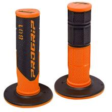 344114C COPPIA MANOPOLE PRO GRIP 801 BLACK / ORANGE