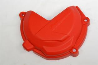 P8465800001 CLUTCH COVER PROTECTION POLISPORT 2018-2019 RED 2T