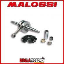 5314548 ALBERO MOTORE MALOSSI MHR BENELLI 491 SPORT 50 2T LC (MINARELLI) BIELLA 80 - SP. D. 12-13 CORSA 39,3 MM -