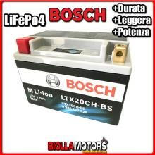 LTX20CH-BS BATTERIA LITIO BOSCH YTX20CH-BS LifePo4 0986122626 YTX20CHBS MOTO SCOOTER QUAD CROSS