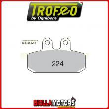 43022400 PASTIGLIE FRENO ANTERIORE OE MOTORHISPANIA RX 50 RACING 2000- 50CC [ORGANICHE]